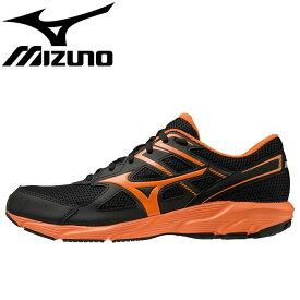 ミズノ メンズ ランニングシューズ マキシマイザー23 MIZUNO K1GA2100 スニーカー ブラック オレンジ