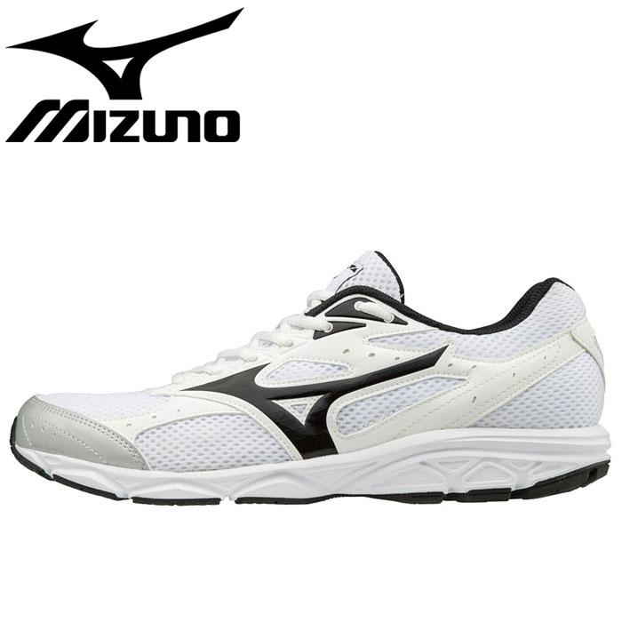 ミズノ ジョギングシューズ マキシマイザー20 ウォーキングシューズ MIZUNO K1GA180010 ホワイト