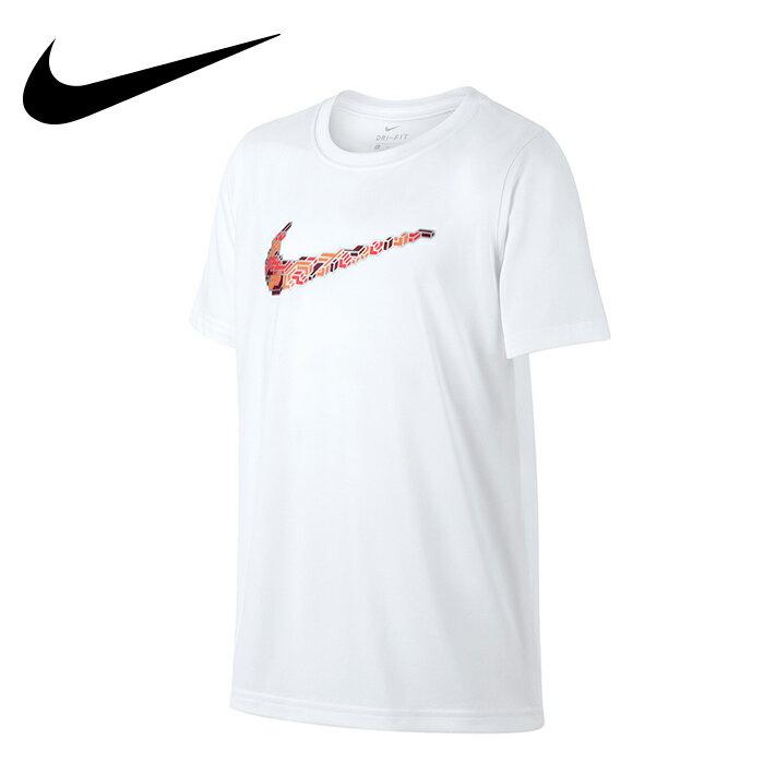 ナイキ ジュニア ピクセルロゴ NIKE スウッシュ 機能Tシャツ Tシャツ 男の子 女の子 キッズ YTH ドライ