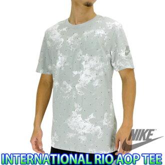 耐吉T恤短袖國際RIO AOP人跑步休閒街道NIKE 803951