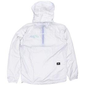 ナイキSB ナイロンジャケット プルオーバー シンプル NIKESB 白色 ホワイト