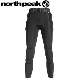 ノースピーク ヒッププロテクター ロングタイプ ユニセックス スノーボード スキー 黒 NP-1229