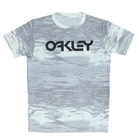 OAKLEY メンズ ラッシュガード Tシャツ 半袖 RASH TEE 10.0 UPF50+ オークリー 吸汗速乾 FOA400852 ホワイト