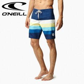【メール便対応】ONEILL 海水パンツ ボーダー 紺色 オニール サートラ 618404 サーフトランクス ネイビー フィットネス スポーツジム 通販 販売 即納 人気 O'NEILL サーフトランクス 海パン 水着 2018 新作