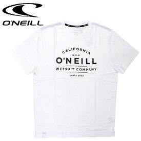 メンズ Tシャツ 半袖 オニール コットン Tシャツ 白 シンプル ONEILL 619506 ホワイト
