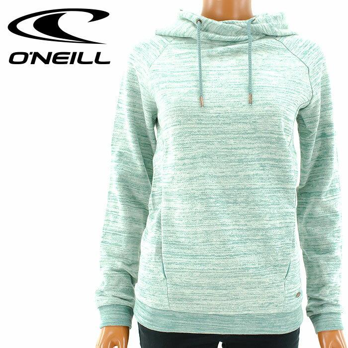 【セール】オニール 675-001 レディース パーカー プルオーバー スウェット 無地 シンプル O'NEILL
