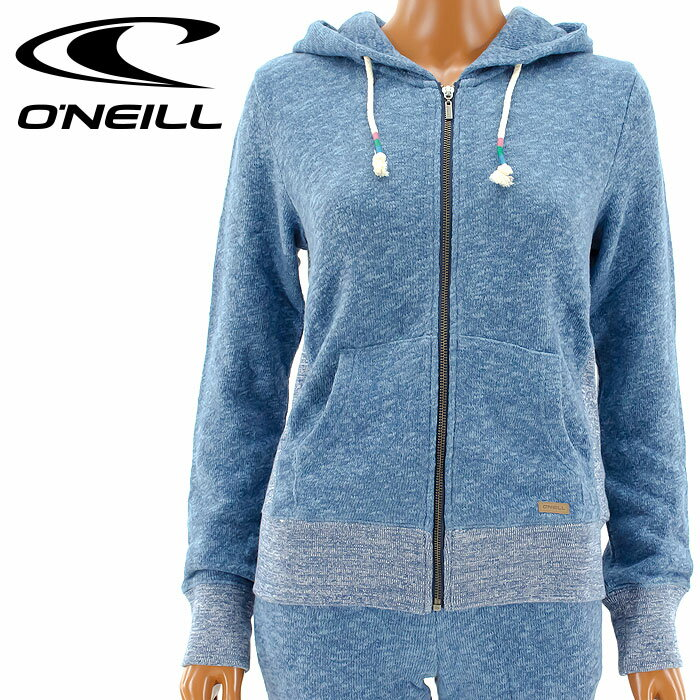 【セール】オニール ジップパーカー セットアップ O'NEILL 675004 レディース ジップアップ パーカー