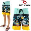 【セール】 RIPCURL W01-506 サーフトランクス 海水パンツ リップカール メンズ ストレッチ ボタニカル柄