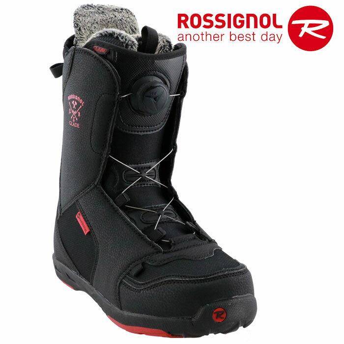 ロシニョール TGFダイヤル式 スノーボードブーツかんたん着脱 ROSSIGNOL GLADE TGF メンズ スノボ 黒