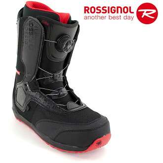 供單板滑雪使用的長筒靴BOA shisutemuroshinyorusunobobutsumenzu ROSSIGNOL sunobobutsu