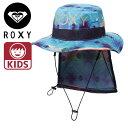 ロキシー キッズ ガールズ 撥水 サーフハット 帽子 サーフブランド GIRLS AMPHIBIAN UV HAT TSA171751
