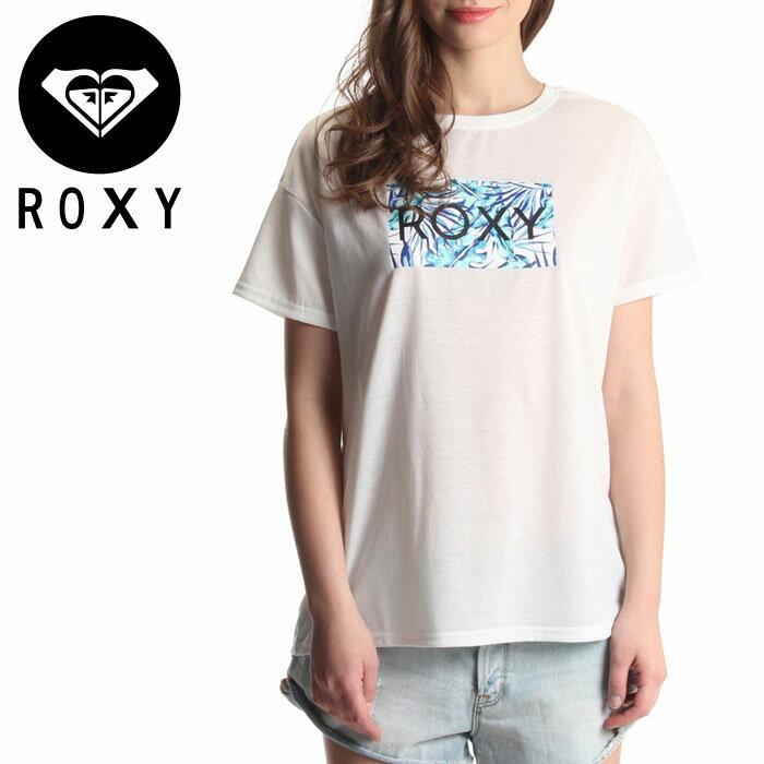 【メール便OK】ロキシー レディスTシャツ ラッシュTシャツ 半そで UVカット