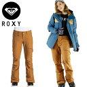 セール ロキシー レディース スノーパンツ キャメル ROXY ERJTP03021 ズボン パンツ スキー スノー