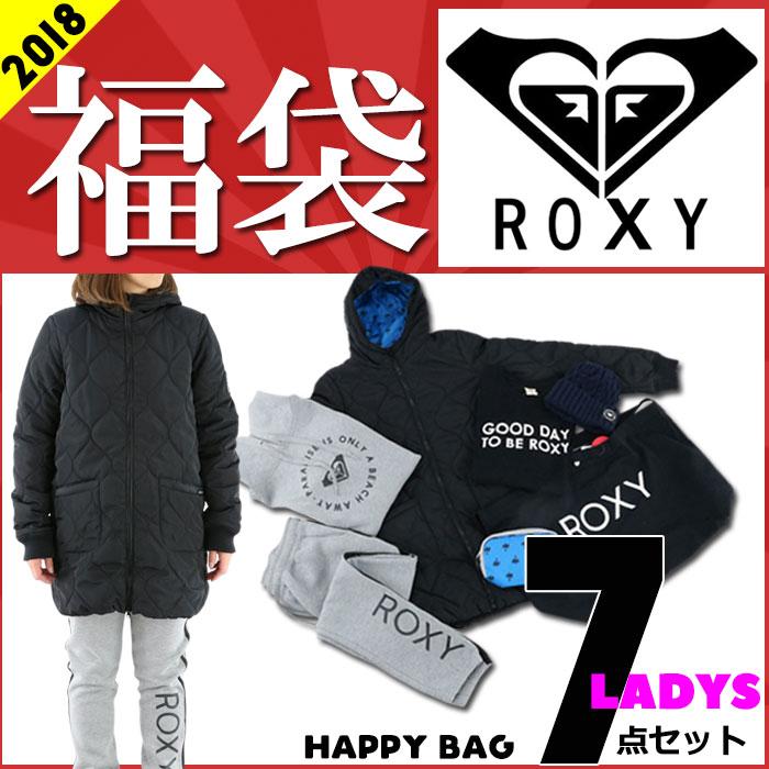 ロキシー 福袋 2018年 ROXY レディース 福袋 人気サーフブランド福袋 7点入り 数量限定