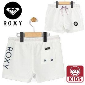 ロキシー 子供用 サーフパンツ 白色 無地 ジュニアサイズ サーフショーツ キッズ ROXY TBS191112