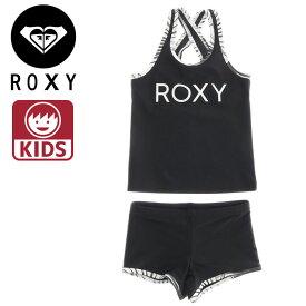 ロキシー キッズ 水着 子供用 タンキニタイプ スポーツ 水泳 女の子 ジュニアサイズ ROXY TSW191100