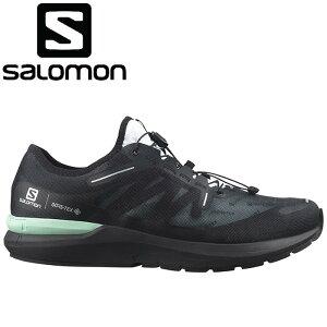 サロモン SONIC 4 GORE-TEX メンズ ランニングシューズ 防水 スニーカー L41367000 ブラック