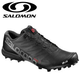 サロモン エスラボスピード2 ブラック トレイルランニングシューズ 黒色 トレランシューズ SALOMON