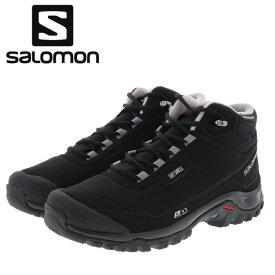 サロモン スノーシューズ 冬靴 シェルタークライマシールド ウォータープルーフ SALOMON L40472900