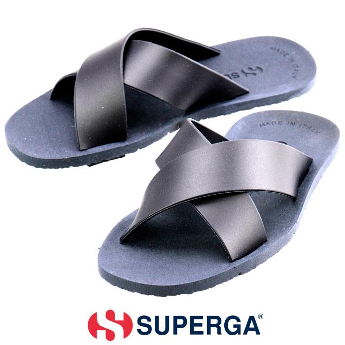 スペルガ サンダル ストラップサンダル SUPERGA 1900-PVC S00AJ50
