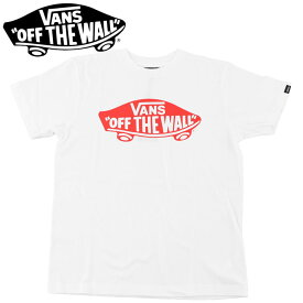 バンズ Tシャツ 半袖Tシャツ VANS オフザウォール ロゴプリントTシャツ