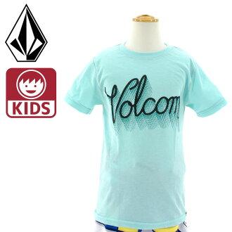 小borukomukizzu短袖T恤VOLCOM T恤針織Y5711506 SK8