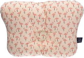 ベビー枕 flamingo Standard 28*22cm 子供 ベビーまくら 赤ちゃん 枕 キッズ枕 おしゃれ かわいい 頭の形が良くなる・丸洗い可能・首の高さ調整 〜3歳 ベビー布団 ベビーベッド LITTLE SEEDS(リトルシード)