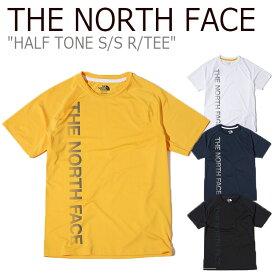 ノースフェイス Tシャツ THE NORTH FACE メンズ レディース HALF TONE S/S R/TEE ハーフ トーン ショートスリーブ ラウンドT 半袖 NT7UK11J/K/L/M ウェア 【中古】未使用品