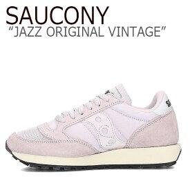 サッカニー ジャズオリジナル スニーカー SAUCONY レディース JAZZ ORIGINAL VINTAGE ジャズ オリジナル ヴィンテージ ORCHID オーキッド S60368-69 シューズ