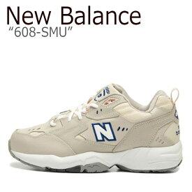 ニューバランス 608 スニーカー New Balance メンズ レディース 680-SMU BEIGE New Balance608 BEIGE ベージュ NBPT9B401E シューズ 【中古】未使用品