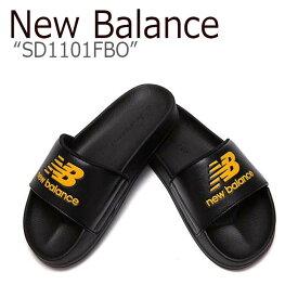 ニューバランス サンダル New Balance メンズ レディース SD1101FBO ORANGE オレンジ NBRJ9S100O シューズ 【中古】未使用品
