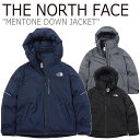 ノースフェイス ダウン THE NORTH FACE メンズ MENTONE DOWN JACKET メントーン ダウンジャケット 全3色 NJ1DK58J/K/L…