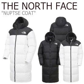 ノースフェイス ダウン THE NORTH FACE メンズ レディース NUPTSE COAT ヌプシ コート BLACK ブラック WHITE ホワイト NC1DK57A/B ウェア 【中古】未使用品