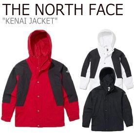 ノースフェイス ジャケット THE NORTH FACE メンズ レディース KENAI JACKET ケナイ ジャケット WHITE ホワイト RED レッド BLACK ブラック NJ4HK50J/K/L ウェア 【中古】未使用品