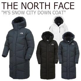 ノースフェイス ダウン THE NORTH FACE メンズ レディース M'S SNOW CITY DOWN COAT スノー シティ ダウンコート 全3色 NN1DK50A/B/C ウェア 【中古】未使用品
