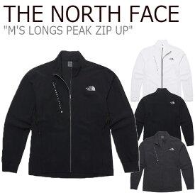 ノースフェイス ジャケット THE NORTH FACE メンズ M'S LONGS PEAK ZIP UP ロング ピーク ジップアップ BLACK ブラック GRAY グレー WHITE ホワイト NJ5JL04J/K/L ウェア 【中古】未使用品