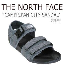 ノースフェイス サンダル THE NORTH FACE メンズ レディース CAMPRIPAN CITY SANDAL キャンプリパン シティー サンダル GREY グレー NS98J14C シューズ 【中古】未使用品