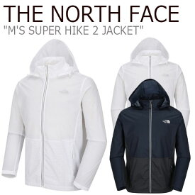 ノースフェイス ジャケット THE NORTH FACE メンズ M'S SUPER HIKE 2 JACKET スーパー ハイクジャケット INK インク WHITE ホワイト NJ3BJ00B/C ウェア 【中古】未使用品