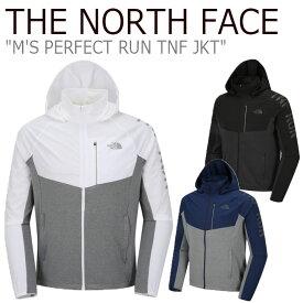ノースフェイス ジャケット THE NORTH FACE メンズ M'S PERFECT RUN TNF JKT パーフェクト ラン TNFジャケット 全3色 NJ5JJ04A/B/C ウェア 【中古】未使用品