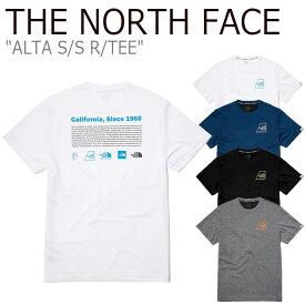 ノースフェイス Tシャツ THE NORTH FACE メンズ レディース ALTA S/S R/TEE アルタ ショートスリーブ ラウンドTEE 全4色 NT7UL08J/K/L/M ウェア 【中古】未使用品