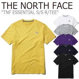 ノースフェイス Tシャツ THE NORTH FACE メンズ レディース TNF ESSENTIAL S/S R/TEE エッセンシャル ショートスリーブ ラウンドTEE 全6色 NT7UL20A/B/C/D/E/F ウェア 【中古】未使用品
