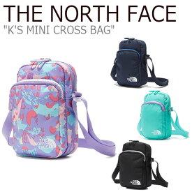 ノースフェイス ボディーバッグ THE NORTH FACE メンズ レディース K'S MINI CROSS BAG ミニ クロスバッグ 全4色 NN2PL05R/S/T/V バッグ 【中古】未使用品