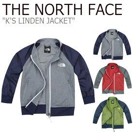 ノースフェイス ジャケット THE NORTH FACE キッズ K'S LINDEN JACKET リンデン ジャケット アウター レッド オリーブ グレー NJ3LJ00S/T/U ウェア 【中古】未使用品