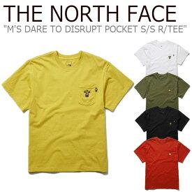 ノースフェイス Tシャツ THE NORTH FACE メンズ M'S DARE TO DISRUPT POCKET S/S R/TEE デアー トゥー ディスラプ ポケット ショートスリーブ ラウンドTEE 全5色 NT7UL01A/B/C/D/E ウェア 【中古】未使用品