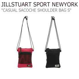 ジルスチュアート スポーツ ニューヨーク ボディーバッグ JILLSTUART SPORT NEWYORK メンズ レディース CASUAL SACOCHE SHOULDER BAG S カジュアル サコッシュ ショルダーバッグ 全2色 JEBA9E165P2/BK バッグ