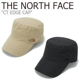 ノースフェイス キャップ THE NORTH FACE メンズ レディース CT EDGE CAP エッジキャップ BLACK ブラック BEIGE ベージュ NE3CK55A/B ACC 【中古】未使用品