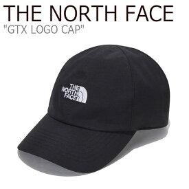 ノースフェイス キャップ THE NORTH FACE メンズ レディース GTX LOGO CAP ゴアテックス ロゴキャップ BLACK ブラック NE3CL52A ACC 【中古】未使用品