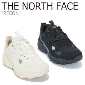 ノースフェイス スニーカー THE NORTH FACE メンズ レディース RECON リコン WHITE ホワイト BLACK ブラック NS93M05J/K シューズ 【中古】未使用品