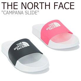 ノースフェイス サンダル THE NORTH FACE メンズ レディース CAMPANA SLIDE カンパーナ スライド BLACK ブラック NEON PINK ネオンピンク NS98M03A/B シューズ 【中古】未使用品