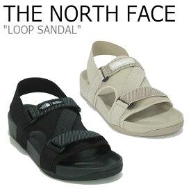 ノースフェイス サンダル THE NORTH FACE メンズ レディース LOOP SANDAL ループ サンダル BLACK ブラック BEIGE ベージュ NS98M12J/K シューズ 【中古】未使用品